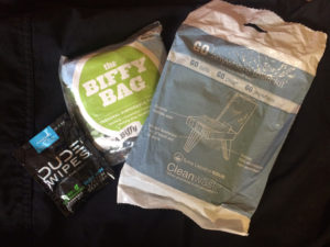 Backpacking Toilet Kits