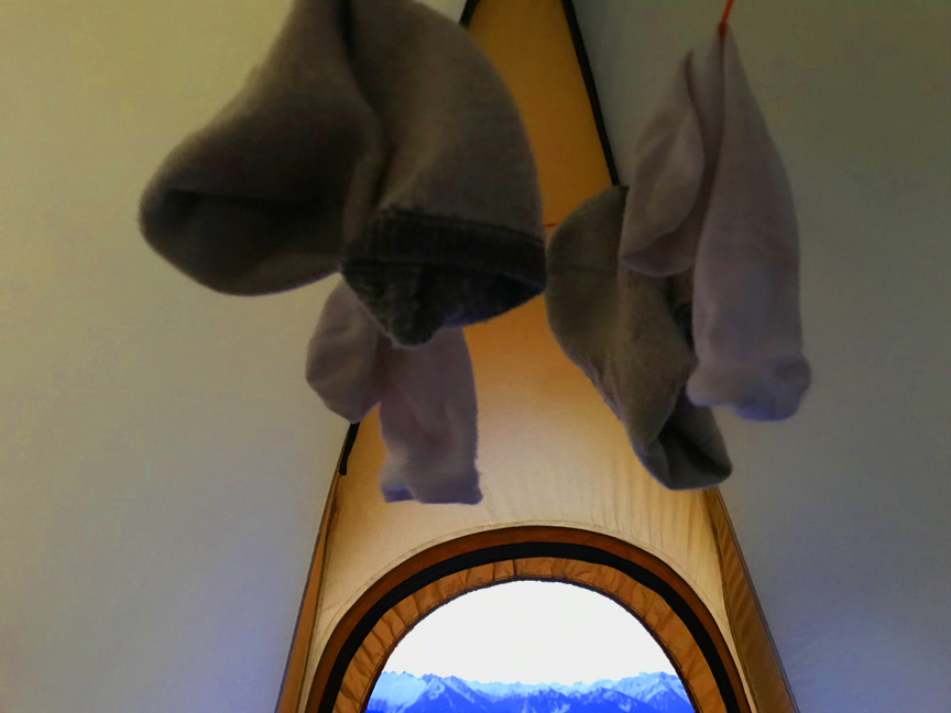 tent clothesline