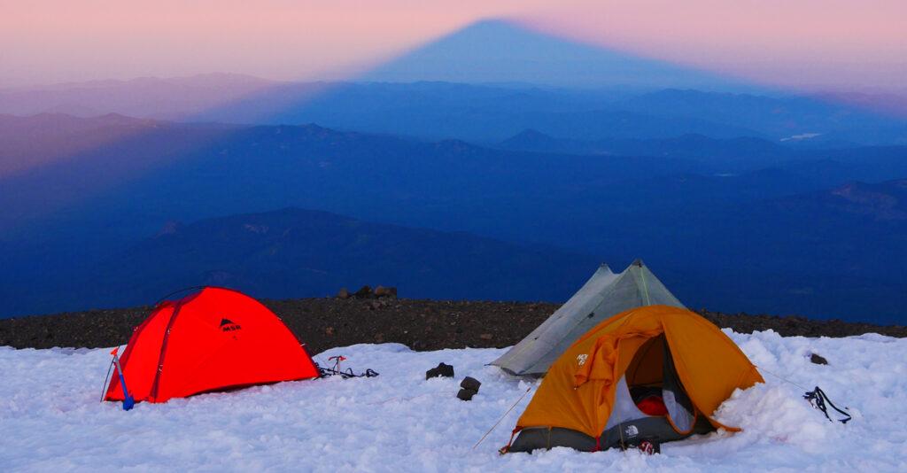 camping at 11,500 ft.
