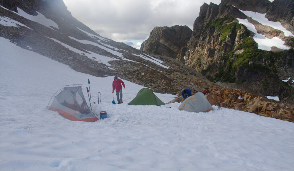 3-season tents snow camping