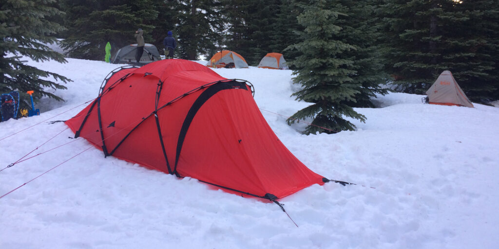 4-season expedition tent