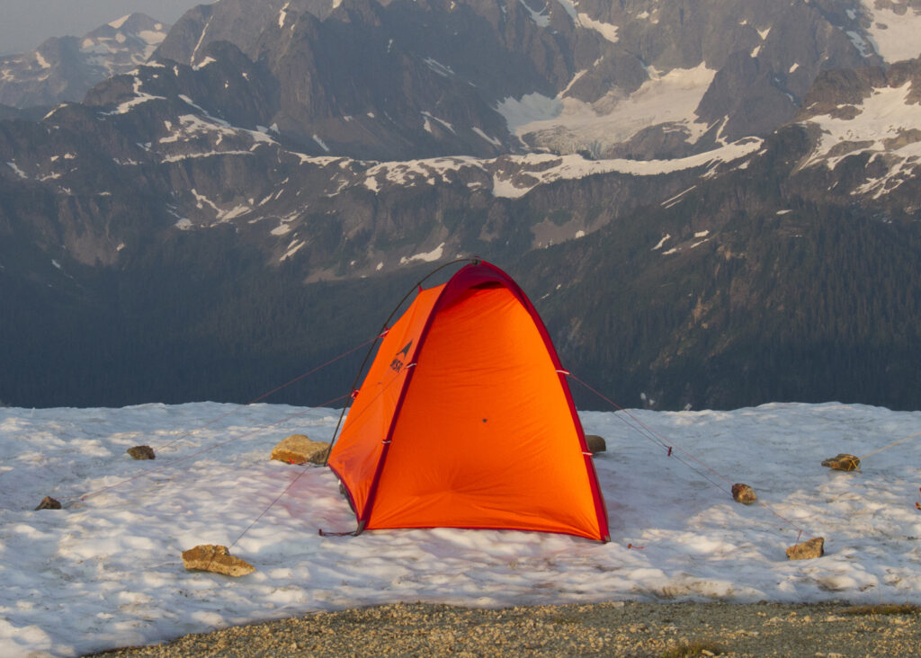 MSR 4-season backpacking tents
