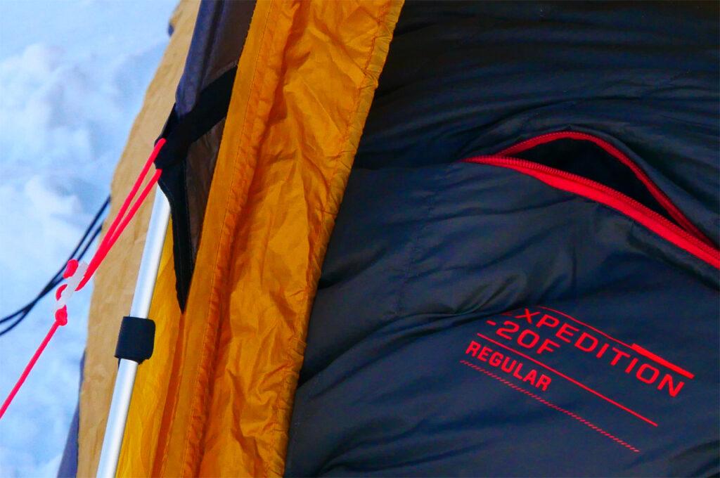 –20º F expedition sleeping bag