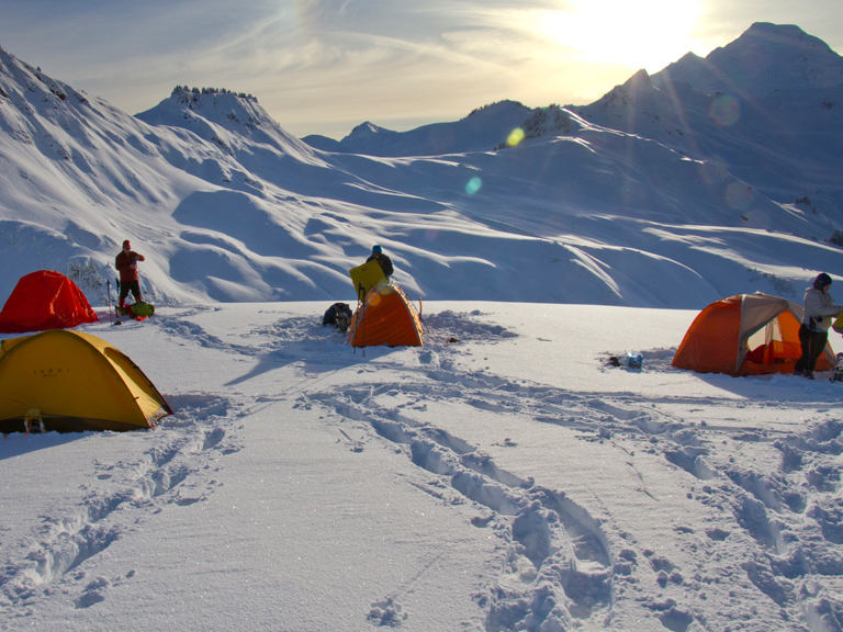 winter backpacking gear