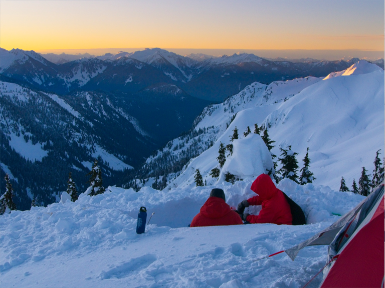 winter backpacking resources