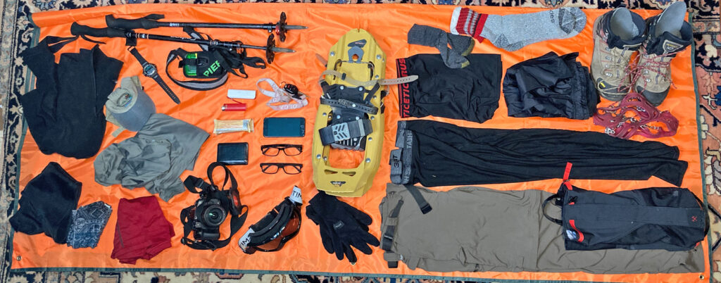 What to wear winter backpacking